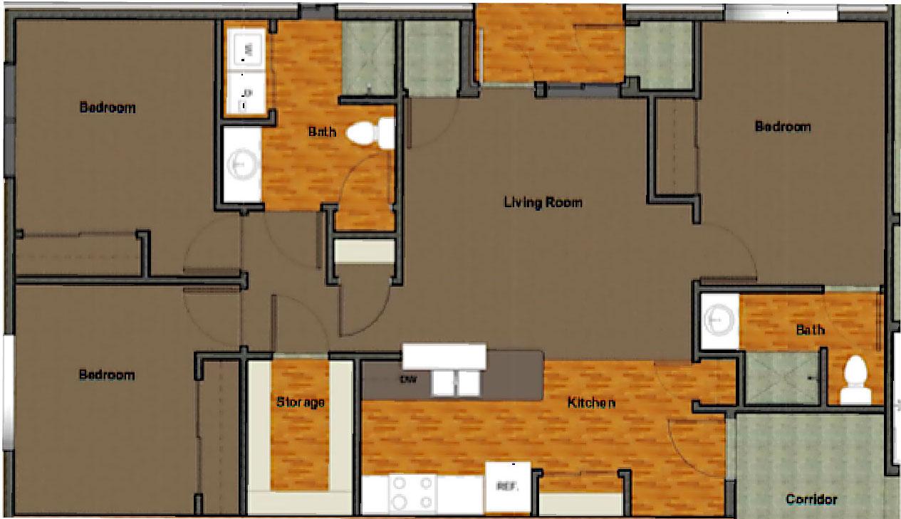 VoV FP 3BR Apartment