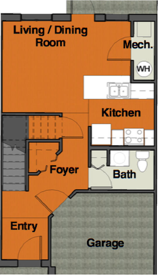 VoV FP 3BR TH 1st floor
