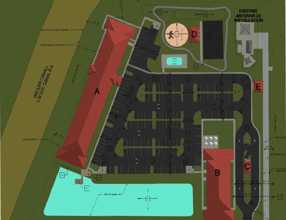 VoV Site Plan East